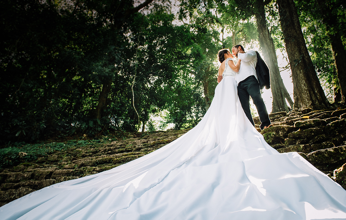 Destination wedding, Bride & Groom, Alan Robles Fotografo de Bodas en Guadalajara - Love is the big reason, Wedding & Love photographer en Chiapas