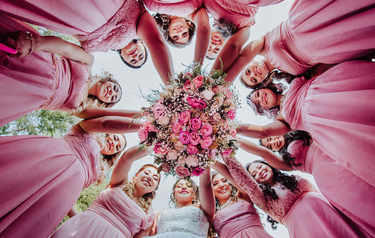 Bride, novia y damas de honor, Alan Robles Fotografo de Bodas en Guadalajara - Love is the big reason, Wedding & Love photographer
