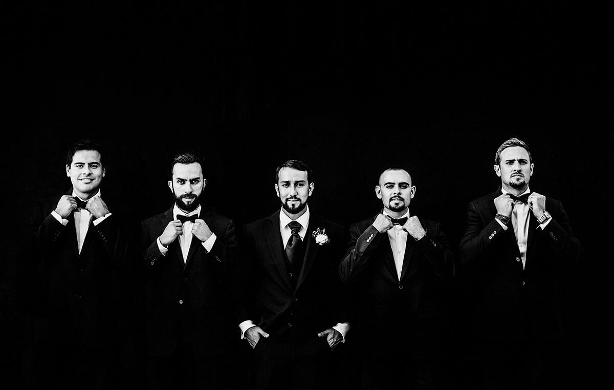 Groom, bestmens, blanco y negro, Alan Robles Fotografo de Bodas en Guadalajara - Love is the big reason, Wedding & Love photographer