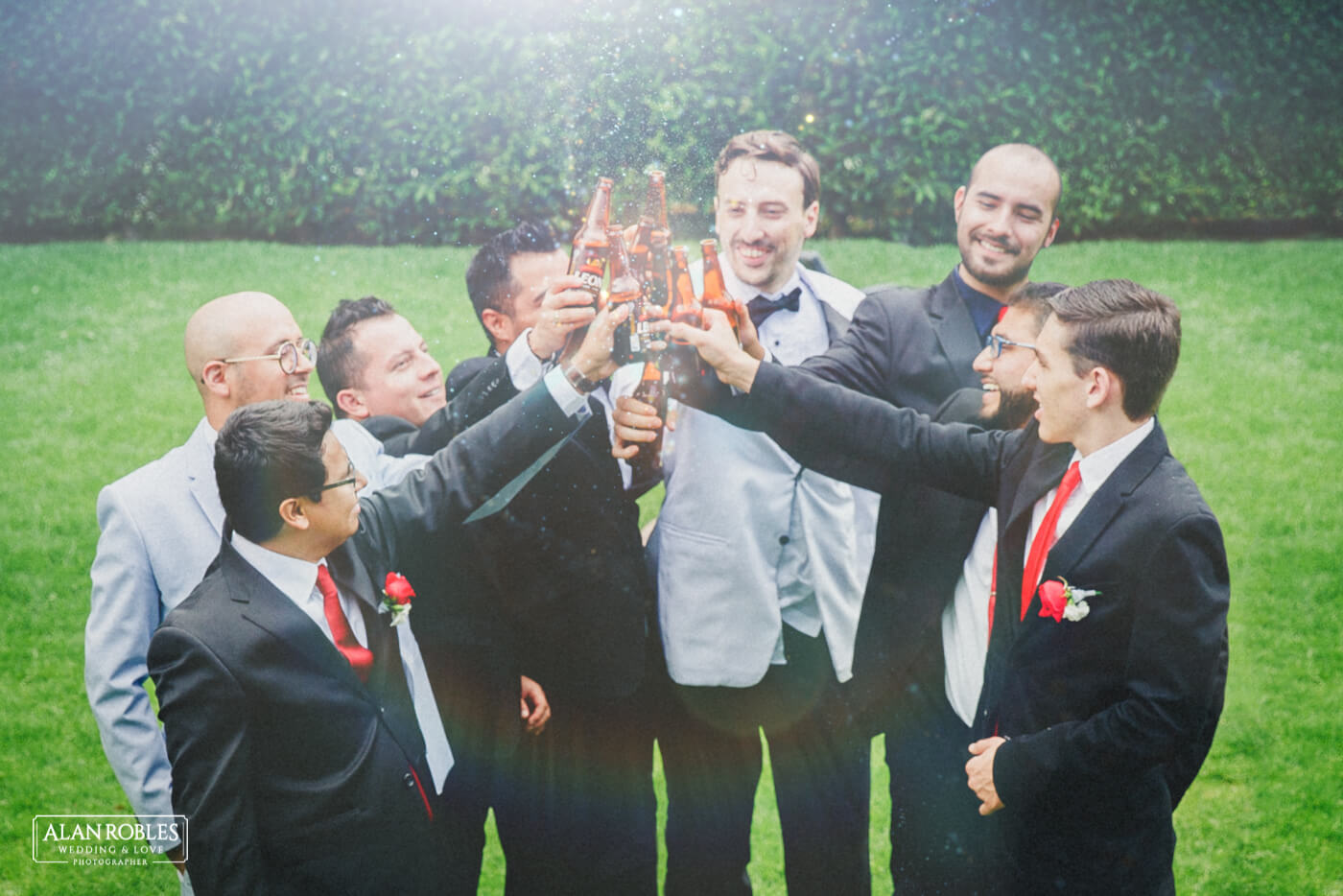 Brindis Boda - Alan Robles Wedding & Love Photographer - Fotografo Bodas Guadalajara