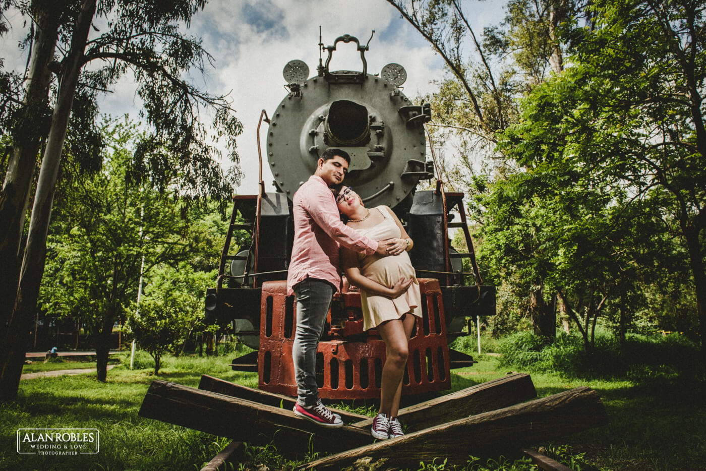 Tren Alan Robles Wedding & Love Photographer - Fotografo Bodas Guadalajara