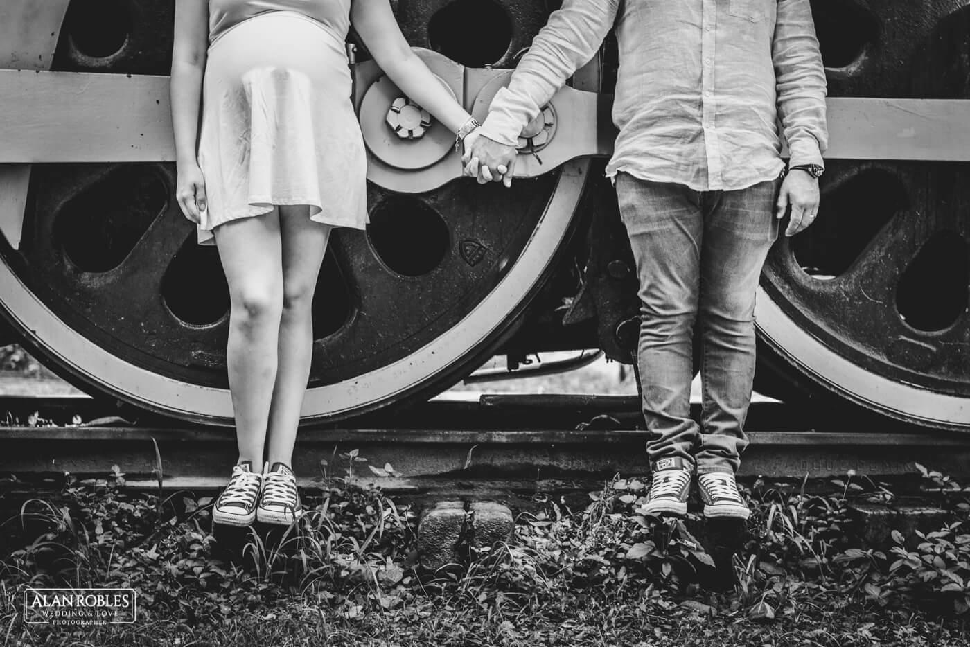 Blanco y Negro - Alan Robles Wedding & Love Photographer - Fotografo Bodas Guadalajara