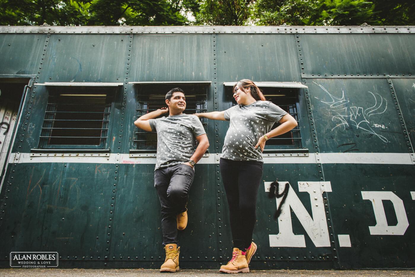 Preboda en vagon de tren - Alan Robles Wedding & Love Photographer - Fotografo Bodas Guadalajara