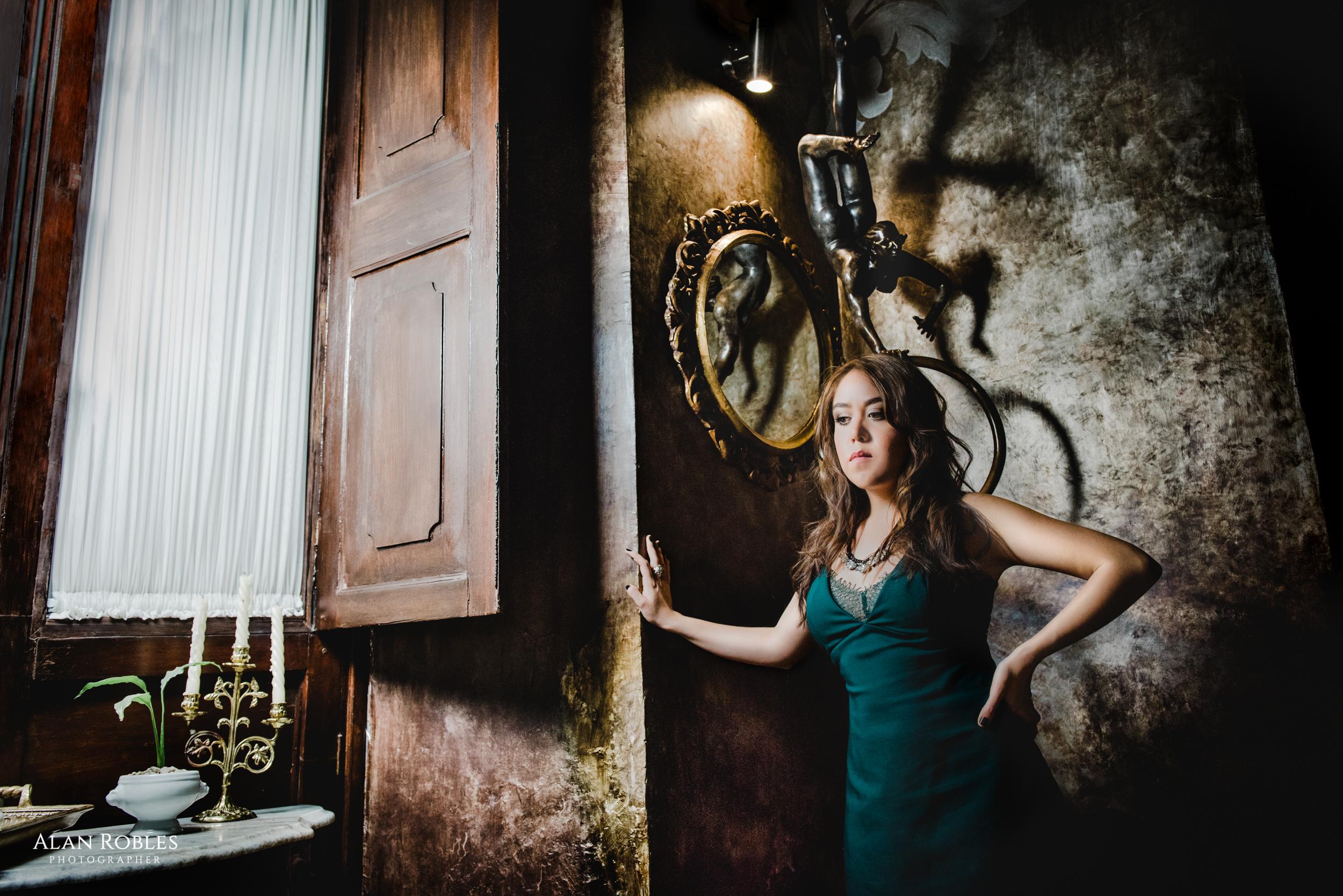 Recepcion en Hotel Casa Pedro Loza - Sesion fotografica con Very Nice Musica - Fotografo Alan Robles