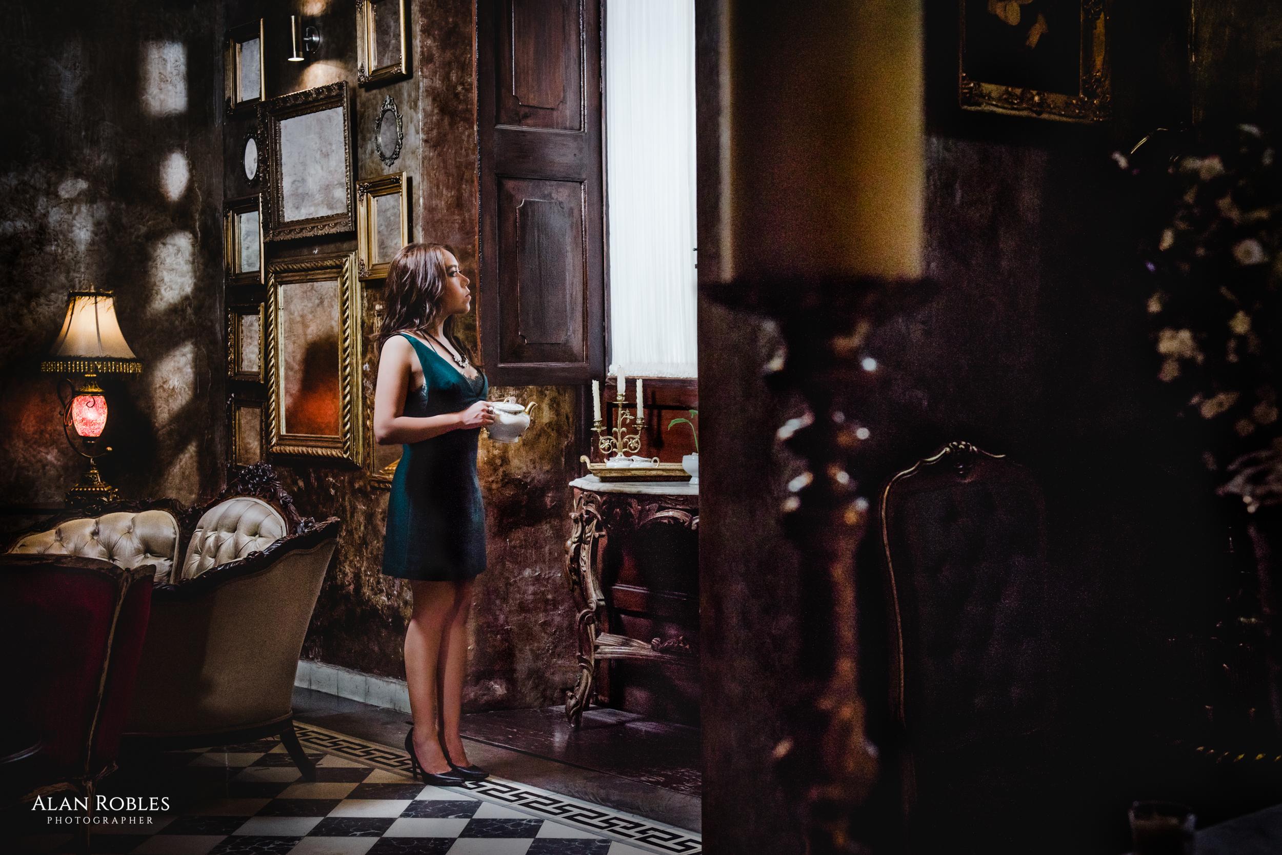 Habitacion en Hotel Casa Pedro Loza - Sesion fotografica con Very Nice Musica - Fotografo Alan Robles