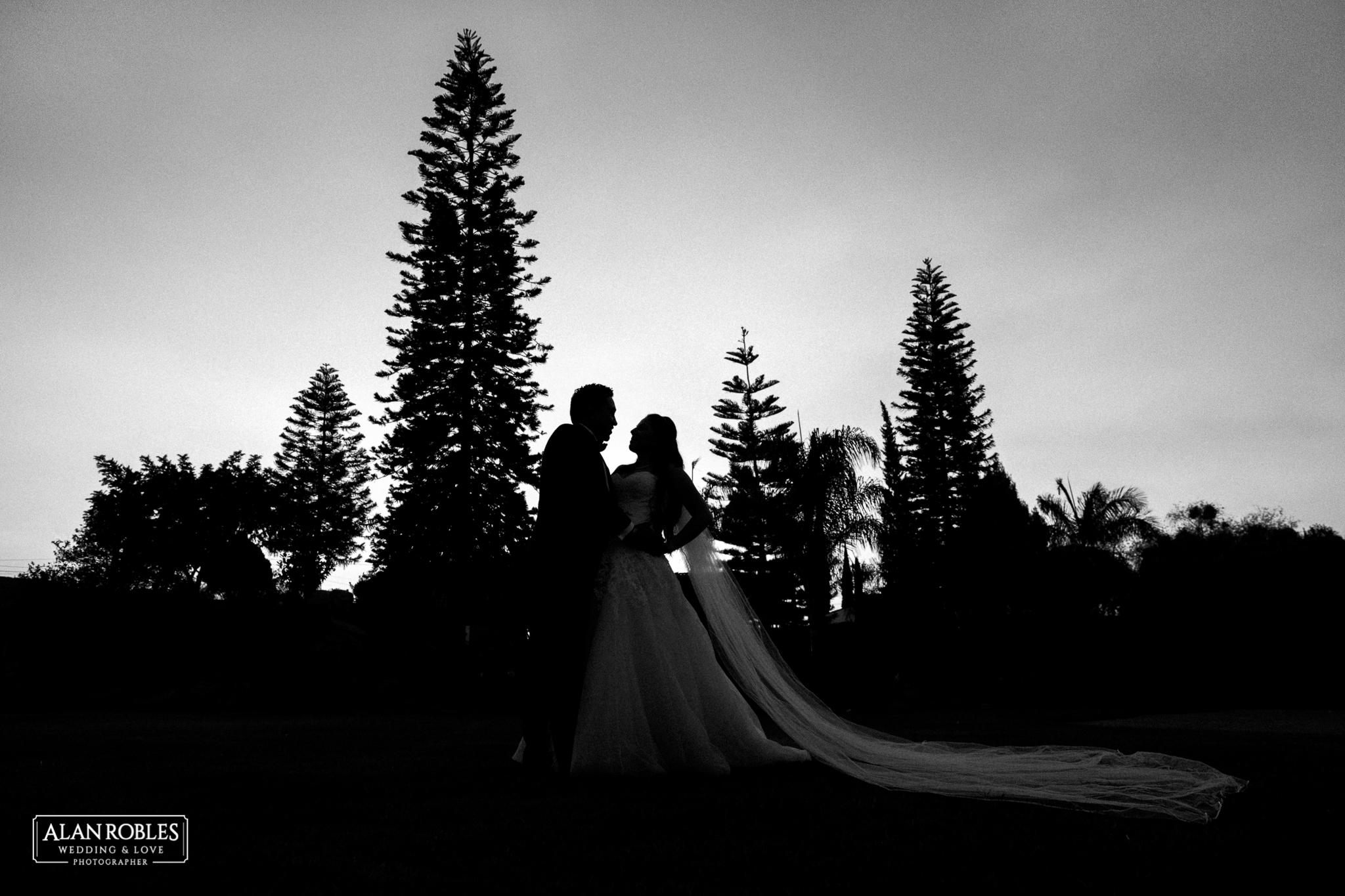 Fotografia artistica de bodas. Alan Robles Fotografo de Bodas