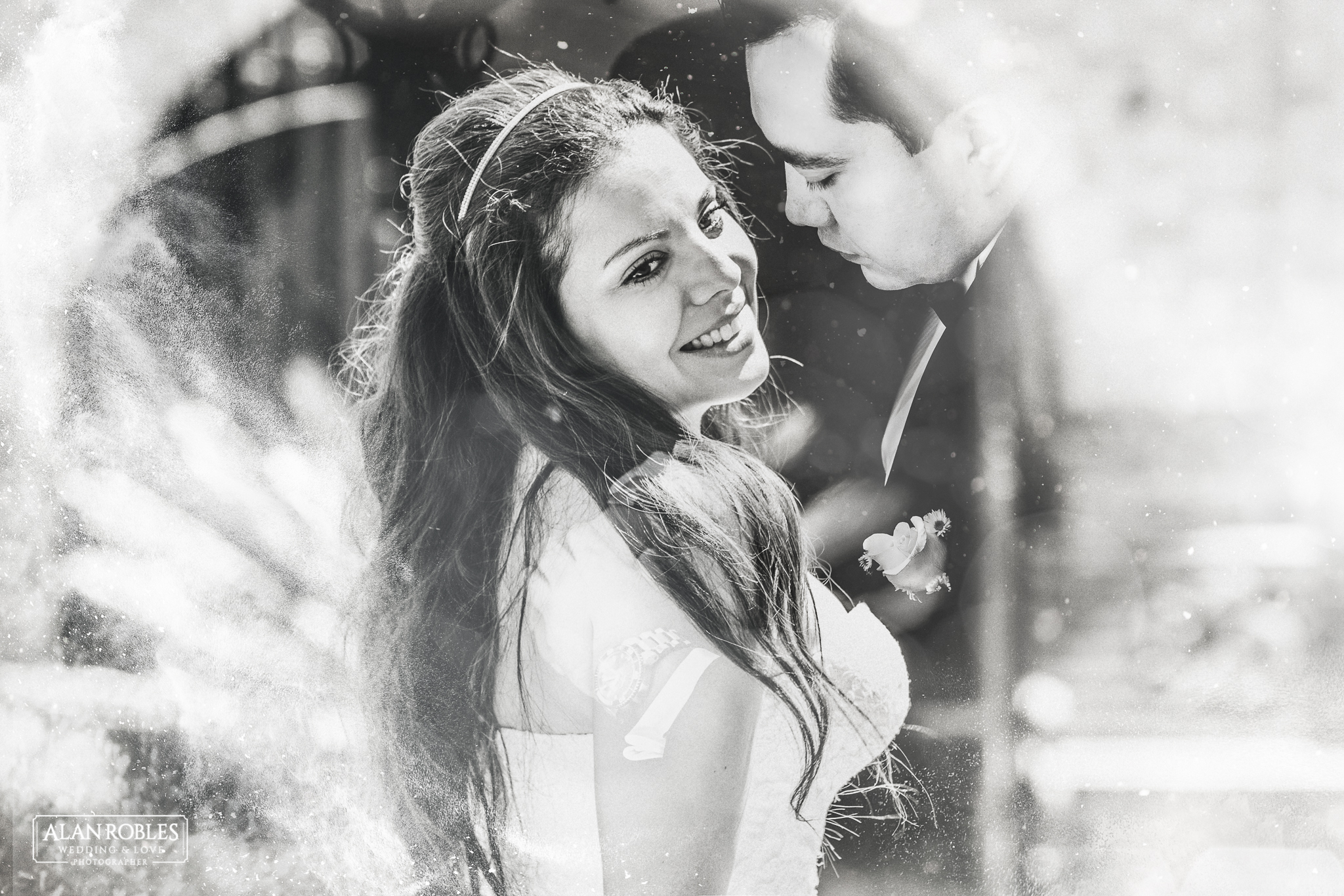 Fotografia artistica de bodas en Guadalajara. Alan Robles Fotografo de Bodas.