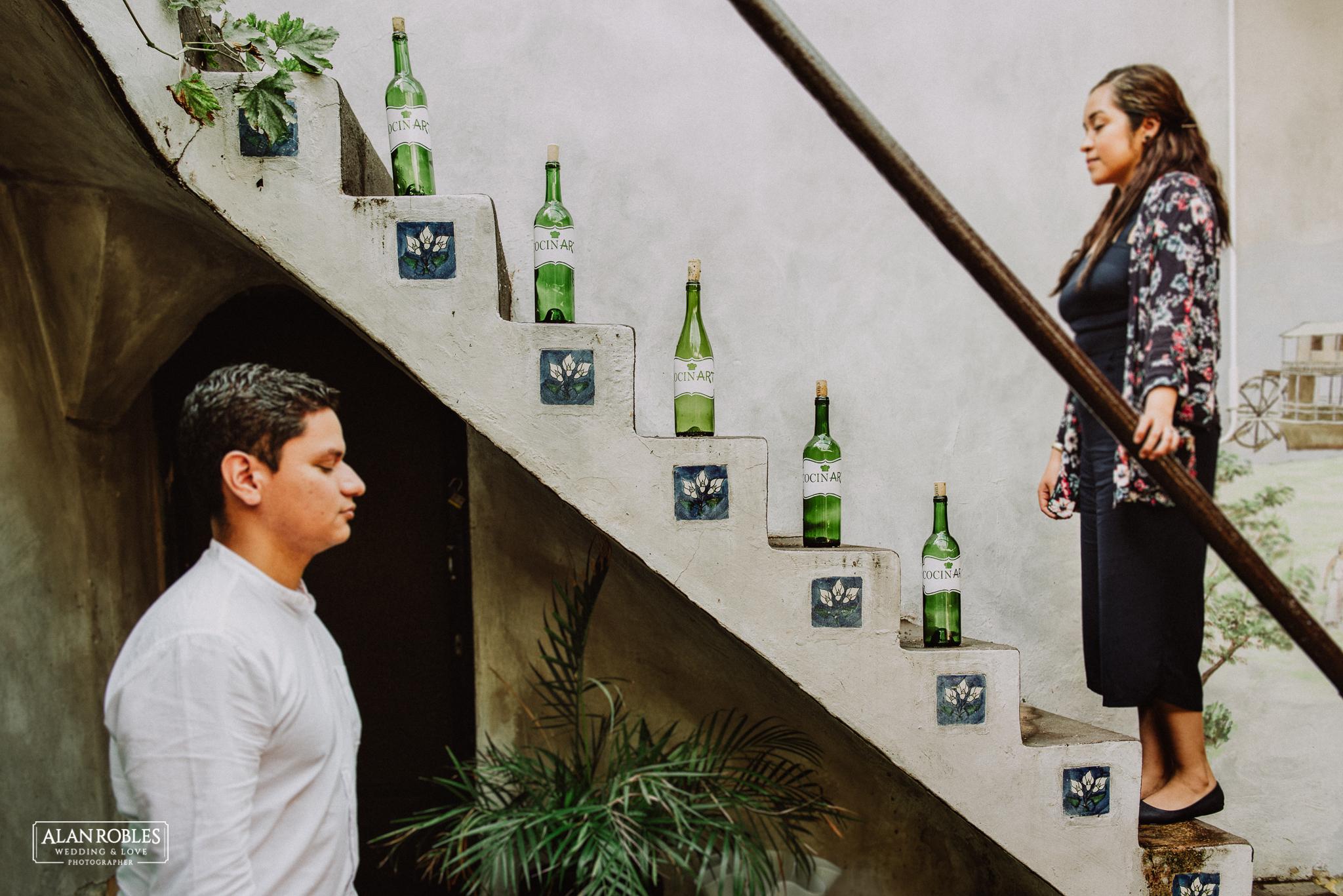Sesion de fotos Preboda en Laguna de Chapala, Ajijic. Fotografia de bodas - Alan Robles Wedding & Love Photographer, Fotografo de bodas en Guadalajara. Fotos creativas para boda. Ideas para fotos de boda.