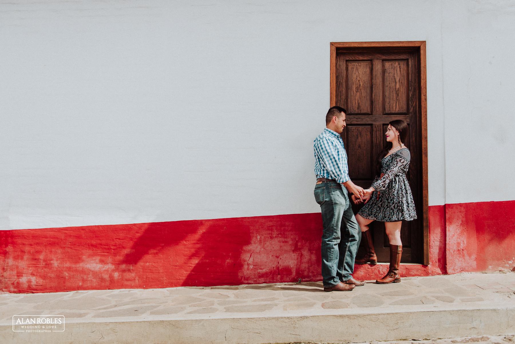 Fotografo de Bodas en Guadalajara Alan Robles - Preboda en Mazamitla Pueblo Magico
