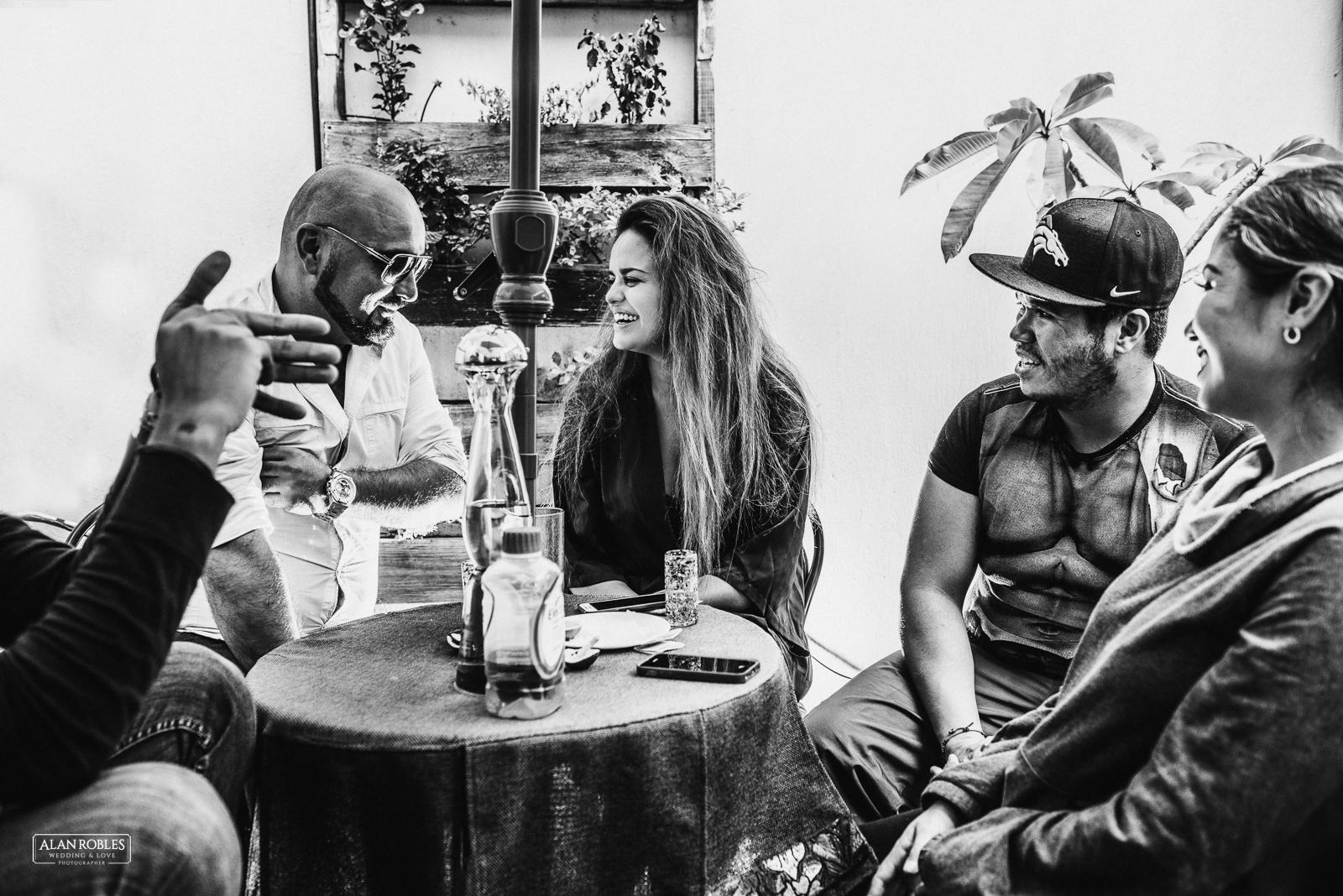 Fotografo de Bodas en Guadalara Alan Robles - Boda en Tlaquepaque Centro historico - Getting Ready